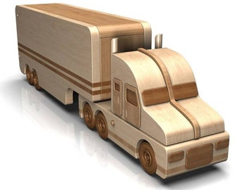 Semi Truck Toy Plans