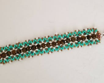 Beaded Daisy Chain Bracelet