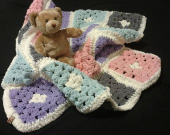 Multi-Color Baby Girl Blanket