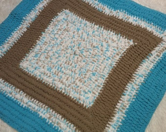 Baby Boy Crochet Blanket