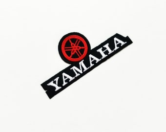 YAMAHA Iron On Patch Sew Motorcycle Biker Scooter Racing