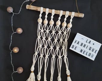 """Macrame Collection; """"nude"""""""