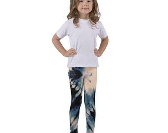 Blue Lightning Kid's leggings