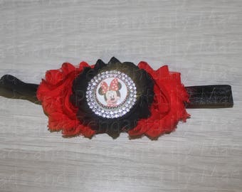 Minnie Mouse Baby Headband