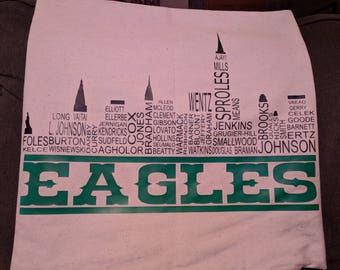 Philadelphia Eagles Throw Pillow Cover