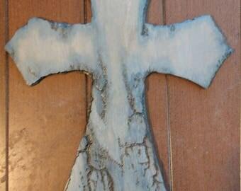 Blue Lichtenberg Cross
