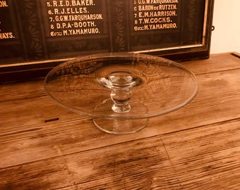 Mulberry Glass Cakestand