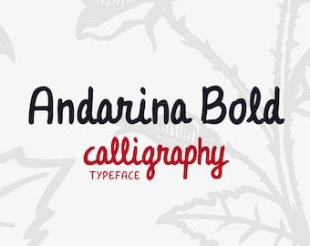 Andarina Bold Font