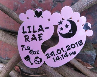 Personalised Baby Gift For Newborn Baby or Christening Gift For a Girl or Boy Birthday Present