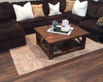 Rustic Coffee Tables!