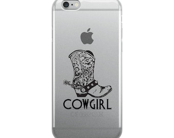 Cowgirl Boot iPhone Case
