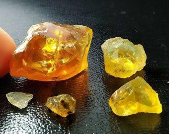 52.55 Unheated & Natural Orange Opal Rough Stone Lot