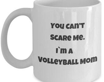 Im a Volleyball Mom Coffee Mug,