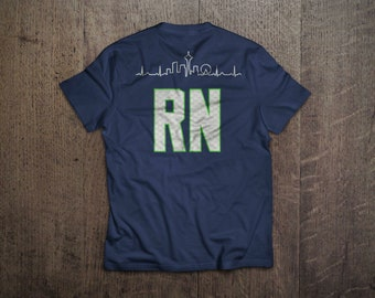 Seattle Skyline Nurse Shirts