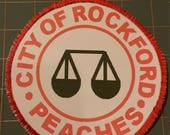 Rockford Peaches Patches for Making Your Own Costume