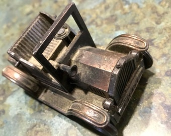Vintage Die Cast 1917 Automobile Pencil Sharpener
