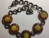 Handmade from Vintage Bakelite Necklace