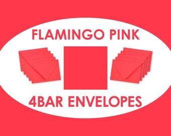 Flamingo 4bar/A1 Envelopes // Paper Source