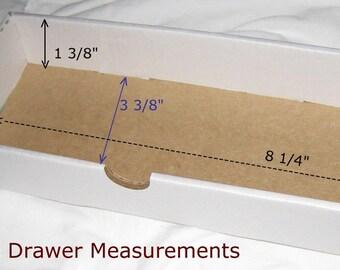 10 Craft storage drawers-washi tape storage-SET of TEN