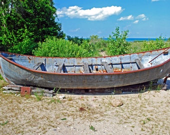 Antique Fishing Boat