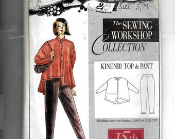 The Sewing Workshop Collection Kinenbi Top and Pant Pattern