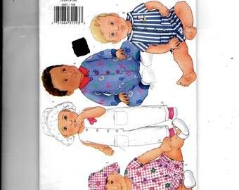 Butterick Infants' Jumpsuit, Romper and Hat Pattern 6607