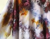 early bird robe sale Hand Dyed Galaxy Kimono Robe, Tie Dye, Shibori, Rayon Bathrobe, Anna Joyce, Portland, OR.