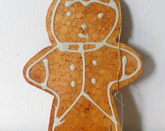 march madness vintage Ginger Bread ornament Japan