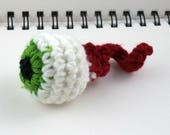 Crocheted Eyeball Cat Toy (with bell, choose your color)