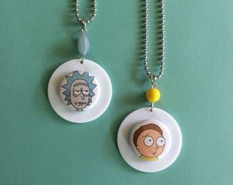 Rick and Morty Necklaces