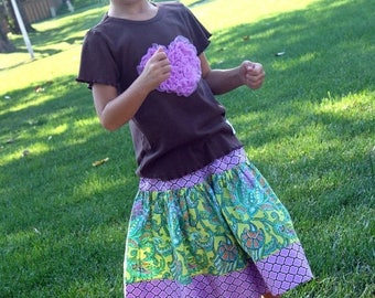 SALE STORE CLOSING Sweetie Pie Design - Twirly Skirt - Ready to Ship