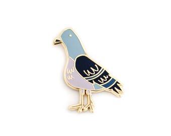 Pigeon, Enamel Pin