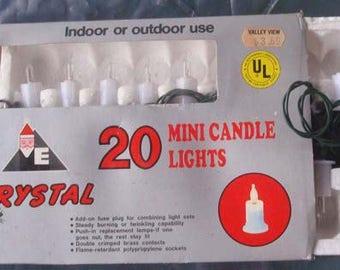 2 Boxes Mini Candle Christmas Tree Lights