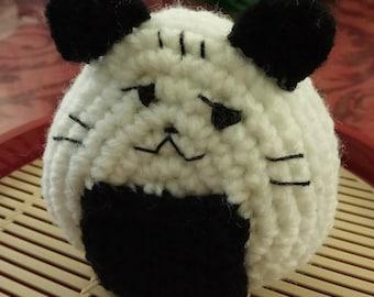 Crochet Smirking  Onigiri Sushi Cat