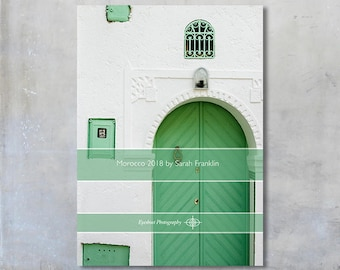 2018 Morocco Marrakech travel photos 5x7 desk calendar loose leaf diary art travel photography gift under 20 photographs month per page