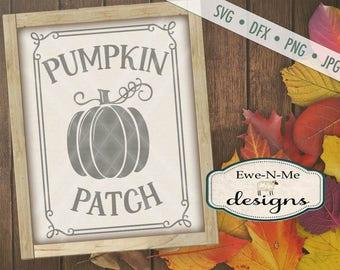 Pumpkin SVG  - fall svg - Pumpkin patch svg - autumn svg  - pumpkin svg files - pumpkin patch sign svg - Commercial Use svg, dfx, png, jpg