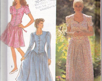 Simplicity 7672 Womens Summer Dress Two Lengths Sewing Pattern Plus Sizes 18-22 Out of Print UNCUT