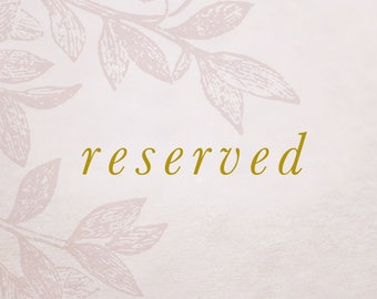 reserved for Jolie