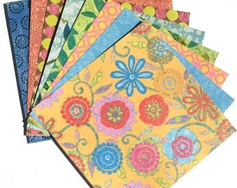 50% OFF - Tim Coffey Specialty Papers - 6x6 K&Company Scrapbooking Paper Pack