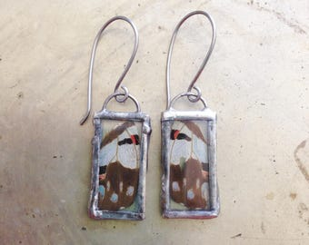 Butterfly Wing Real Insect Jewelry Bohemian Earrings