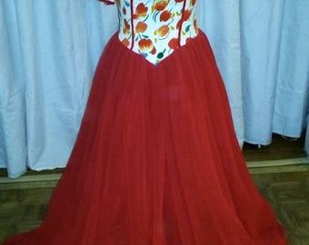 Rockabilly Cherry Dress size 4