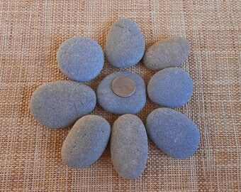 2 piece painting etsy for Where to buy flat rocks for crafts