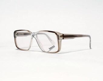 RODENSTOCK vintage eyeglasses, mens eyeglass frame, 80s eyewear, spring hinges, exclusiv series in unworn deadstock condition.