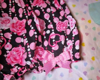Lolita bloomers, hime gyaru fairy kei Valentine's Day gift pastel goth barbie clothes for women size medium M