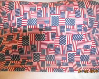 Stars and Stripes Patriotic Pillowcase