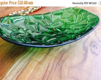 Sale Cactus Pad Mosaic Glass Dish