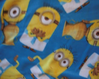 Minions Sewn Fleece Lap Blanket