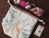 Winter Wonderland Sock Kit / Collaboration wkth Makershaven and the Nome Knitter