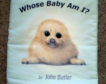 Whose Baby am I? cloth book