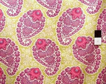 ON SALE Joel Dewberry VJD04 Heirloom Voile Paisley Amethyst Cotton Fabric 1 Yd